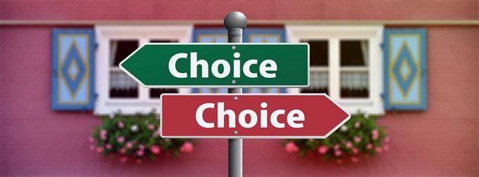 どちらか選択
