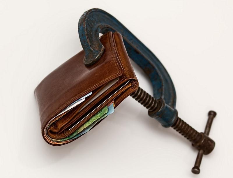 財布をロック